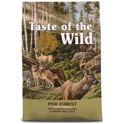 Taste of the Wild, Dog Dry Food, Pine Forest, Venison & Legumes (2 Sizes)
