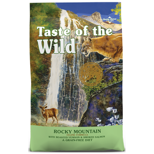 Taste of the Wild, Cat Dry Food, Rocky Mountain, Roasted Venison & Smoked Salmon (2 Sizes)