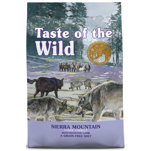 Taste of the Wild, Dog Dry Food, Sierra Mountain, Roasted Lamb (2 Sizes)