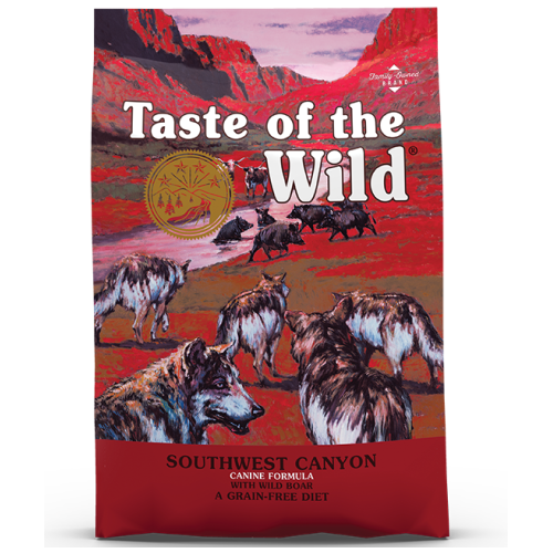 Taste of the Wild, Dog Dry Food, Southwest Canyon, Wild Boar (2 Sizes)