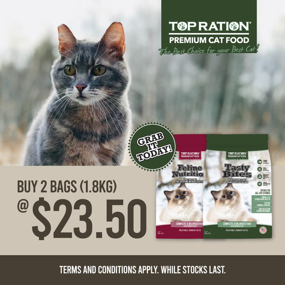 TopRation, Cat Dry Food, 2 for $23.50 (2 Types)