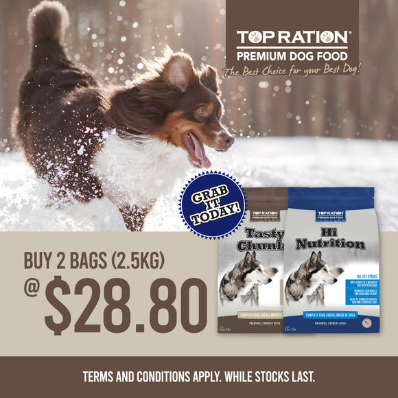 TopRation, Dog Dry Food, 2 for $28.80 (2 Types)