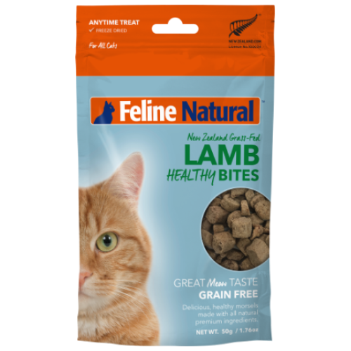 Feline Natural, Cat Treats, Freeze Dried, Healthy Bites, Lamb
