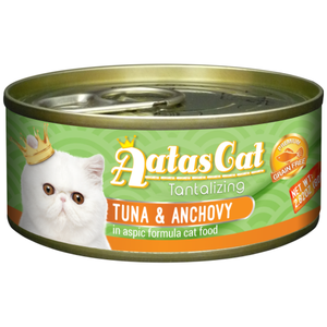 Aatas Cat, Cat Wet Food, Tantalizing Tuna & Anchovy in Aspic (By Carton)