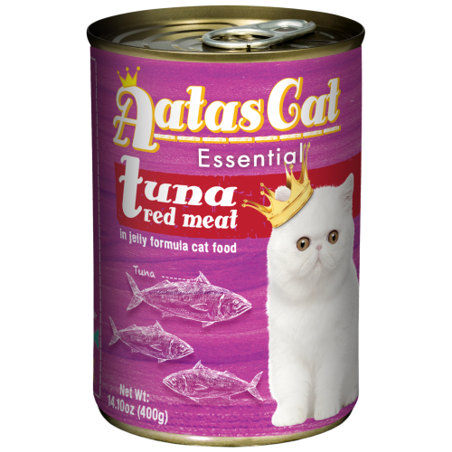 Aatas Cat, Cat Wet Food, Essential, Tuna Red Meat in Jelly (By Carton)