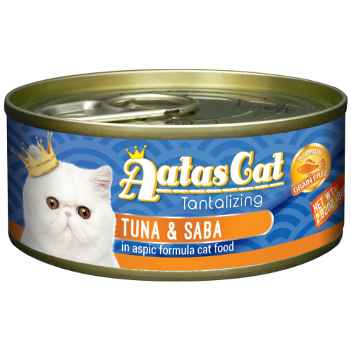 Aatas Cat, Cat Wet Food, Tantalizing Tuna & Saba in Aspic (By Carton)