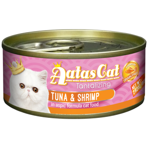 Aatas Cat, Cat Wet Food, Tantalizing Tuna & Shrimp in Aspic (By Carton)