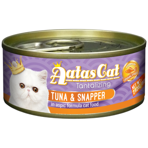Aatas Cat, Cat Wet Food, Tantalizing Tuna & Snapper in Aspic (By Carton)