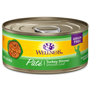 Wellness Complete Health, Cat Wet Food, Grain Free, Pate, Turkey