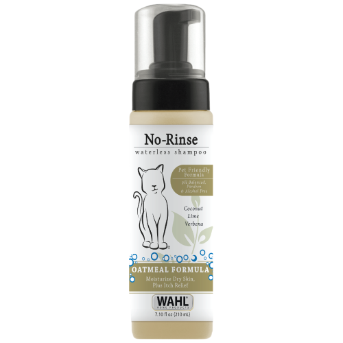 Wahl, Cat Hygiene, Sprays, Mists & Waterless Baths, Oatmeal Coconut Lime Verbena No-Rinse Waterless Shampoo
