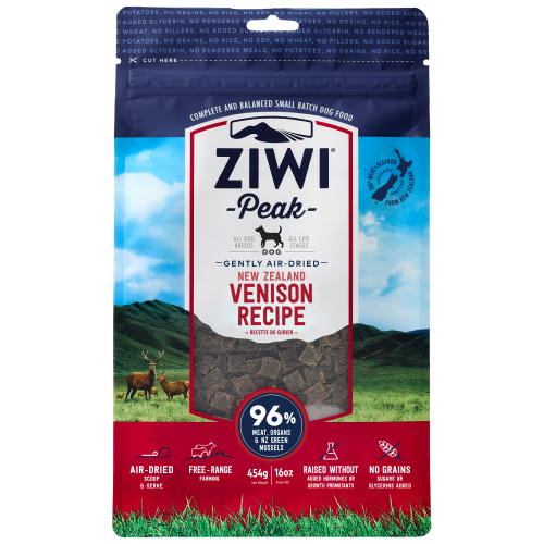 Ziwi, Dog Dry Food, Air Dried, Venison (3 Sizes)