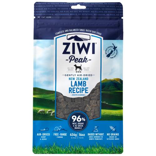 Ziwi, Dog Dry Food, Air Dried, Lamb (4 Sizes)