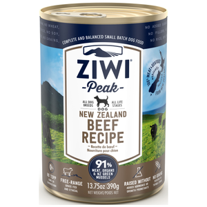 Ziwi, Dog Wet Food, Beef (By Carton)