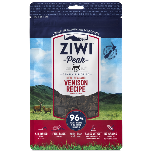 Ziwi, Cat Dry Food, Air Dried, Venison