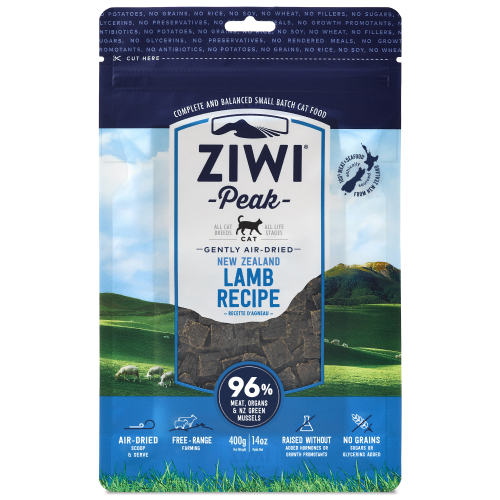 Ziwi, Cat Dry Food, Air Dried, Lamb (2 Sizes)
