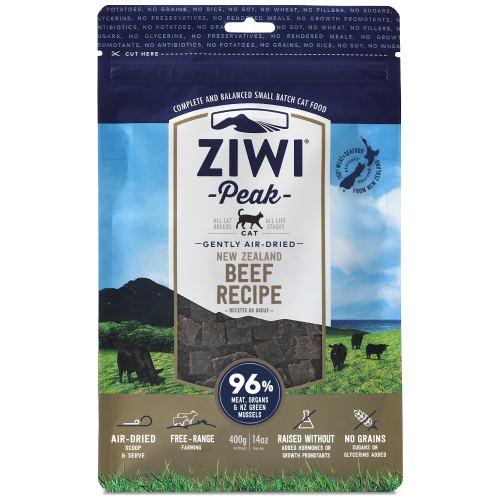Ziwi, Cat Dry Food, Air Dried, Beef (2 Sizes)
