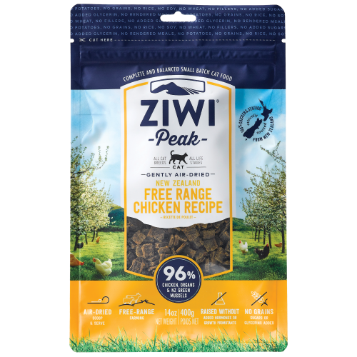 Ziwi, Cat Dry Food, Air Dried, Chicken (2 Sizes)