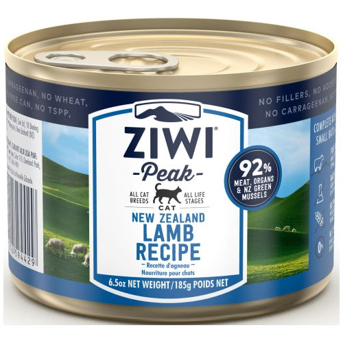 Ziwi, Cat Wet Food, Lamb (By Carton)