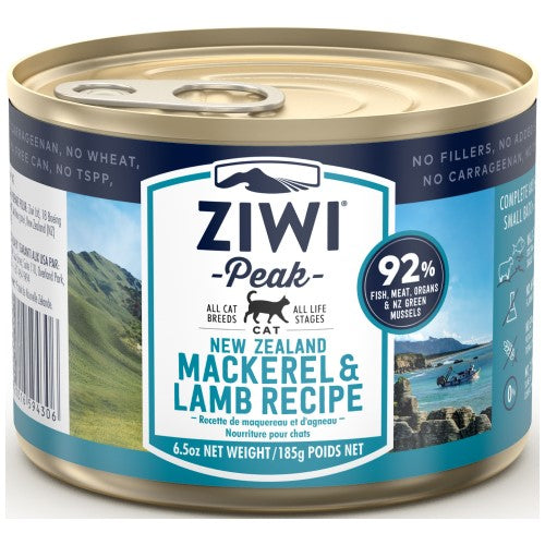 Ziwi, Cat Wet Food, Mackerel & Lamb (By Carton)