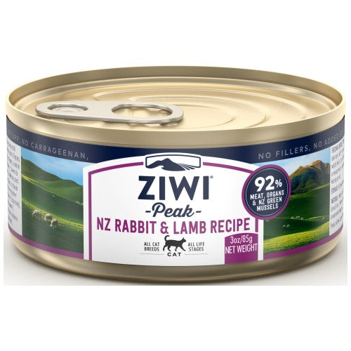 Ziwi, Cat Wet Food, Rabbit & Lamb (By Carton)