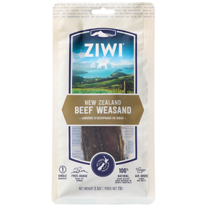 Ziwi, Dog Treats, Air Dried, Beef Weasand