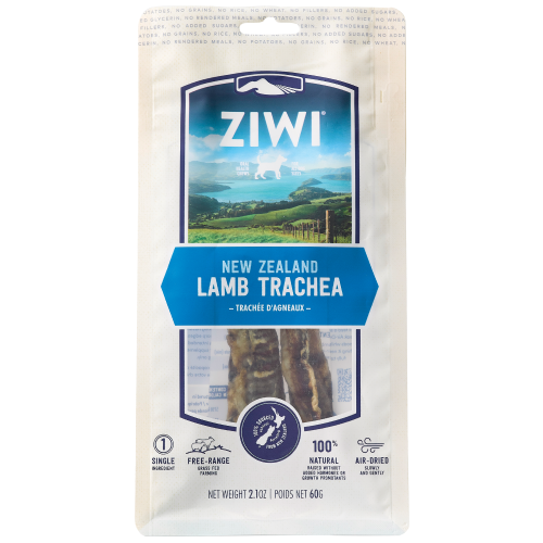 Ziwi, Dog Treats, Air Dried, Lamb Trachea