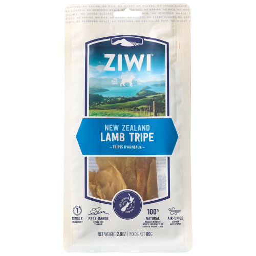 Ziwi, Dog Treats, Air Dried, Lamb Tripe