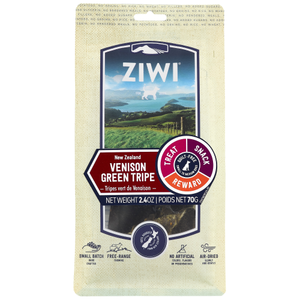 Ziwi, Dog Treats, Air Dried, Venison Green Tripe