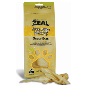 Zeal, Dog Treats, Sheep Ears