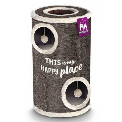 Petrebels, Cat Accessories, Trees & Posts, Champions Only, Barrel 90