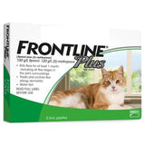 Frontline Plus, Cat Healthcare, Fleas & Ticks, Cats