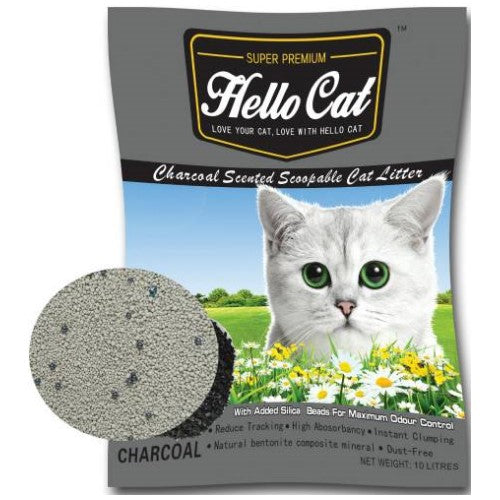 Hello Cat, Cat Hygiene, Litter, Bentonite, Cat Sand, Charcoal