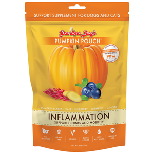 Grandma Lucy's, Dog & Cat Healthcare, Supplements, Pumpkin Pouch, Inflammation