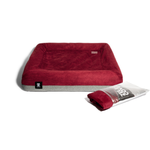 Zee.Dog, Dog Accessories, Beds & Mats, Zee.Bed Cover, Burgundy