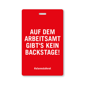 #AlarmstufeRot DEMO- & TOURPASS