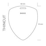 Backstagepass THIN CUT (BADGE)