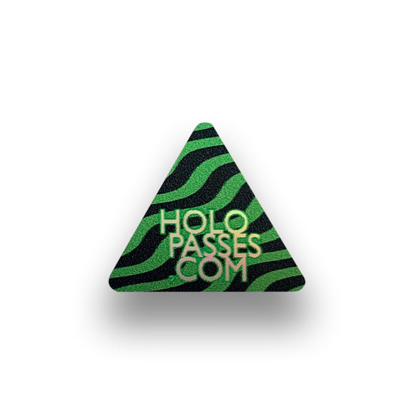 Holopasses Safety Dots Hologramm-Aufkleber