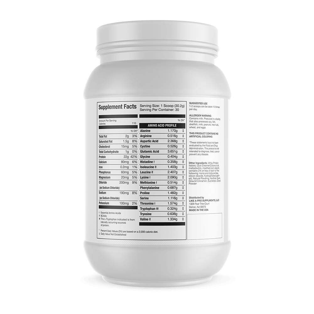 100% Whey Isolate - 2lb Holiday Flavor COMING SOON