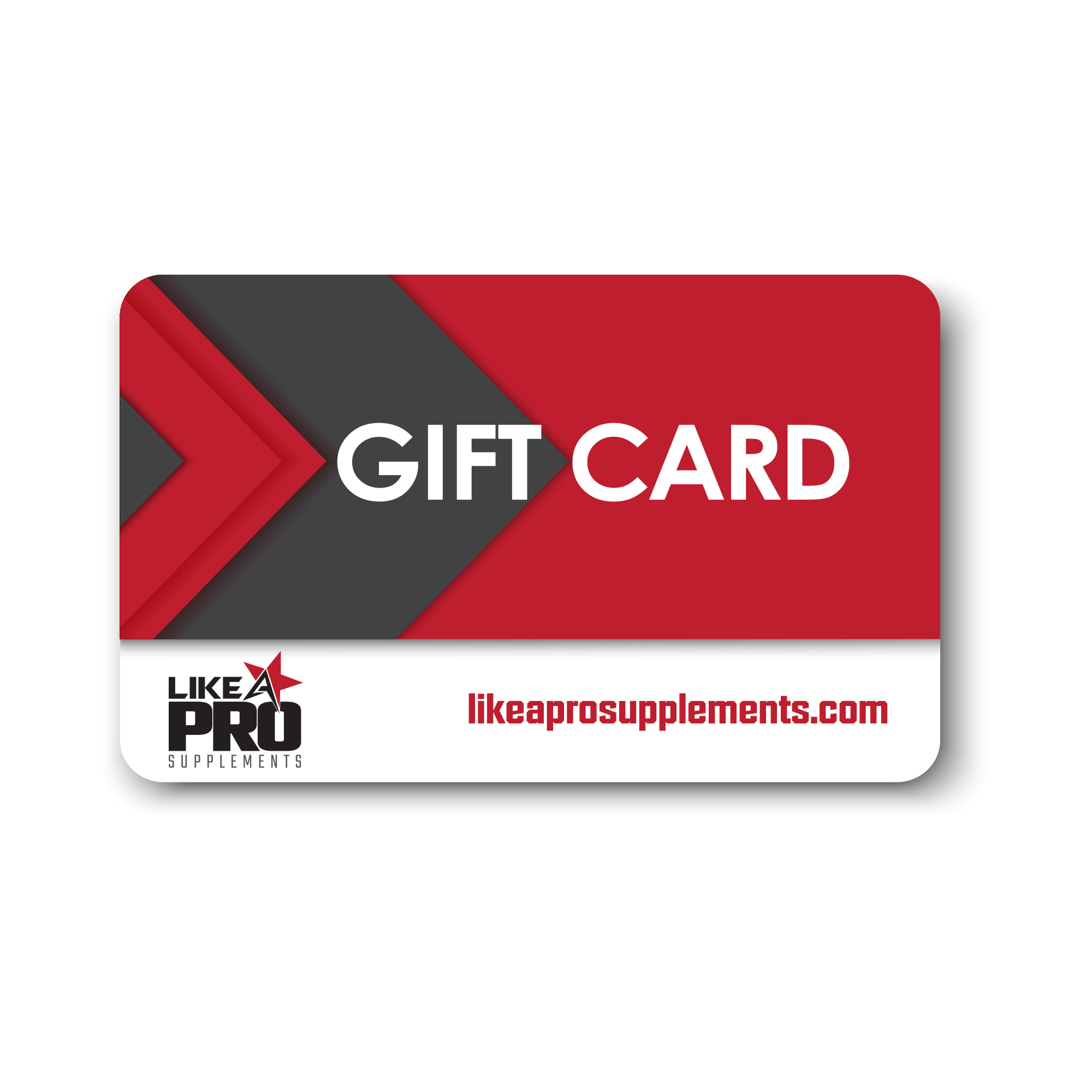 lap gift card  25  like a pro supplements