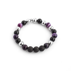 Trio de bracelet Purple confidence