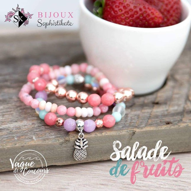 Trio salade de fruit