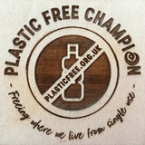 Ginger Mint's Plastic Free Chamption Award from Surfers Against Sewage