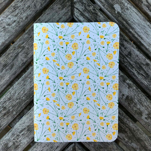 Buttercup design notebook