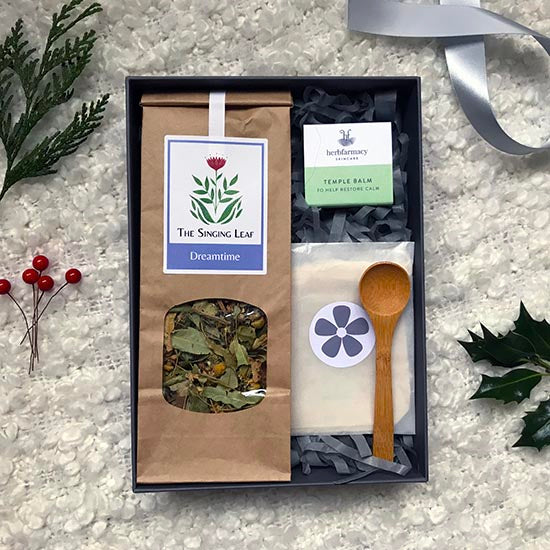 Ginger Mint Sleep Well self-care gift set