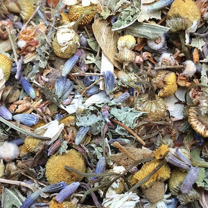 Loose ingredients of Dreamtime herbal tea