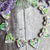 Lavender clay heart garland