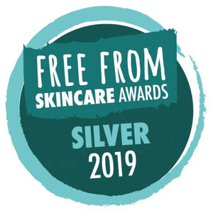 Free From Skincare Awards Silver 2019