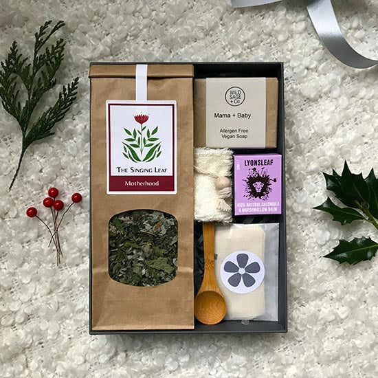 Ginger Mint Mamma and Baby self-care gift set