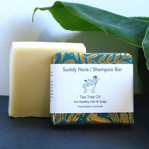 Tea tree oil shampoo bar by Suddy Nora