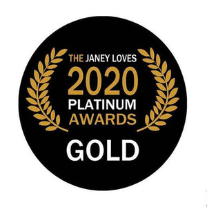 Gold award in The Janey Loves Platimun Awards in the Sensitive and Problem Skin category